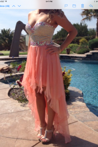 Size 6 Sherri Hill Prom Dress for sale in  California
