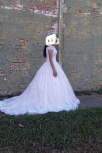 Size 6 Mori Lee Wedding Dress for sale in Houston Texas