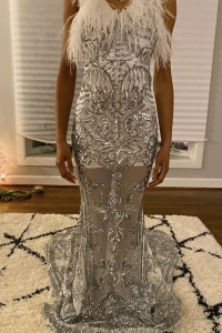 Size 0 Prom Dress for sale Maryland